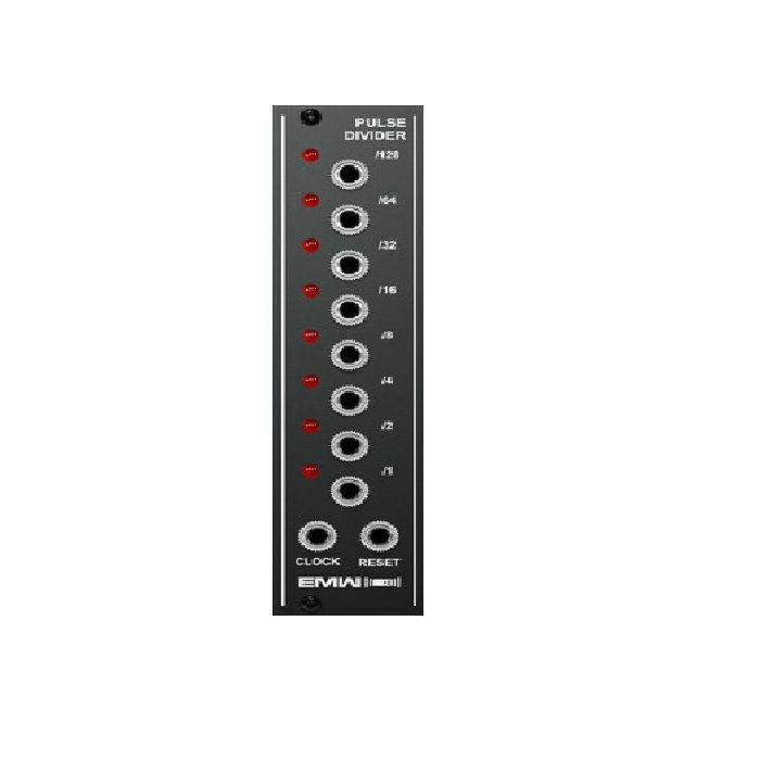 EMW - EMW Pulse Divider Module (black faceplate) (B-STOCK)