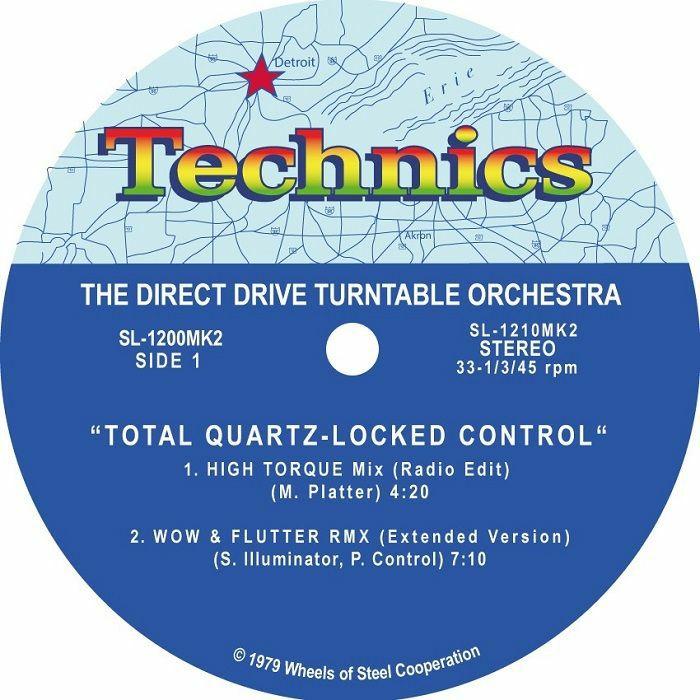 TECHNICS - Technics Motown 12 Inch Slipmats (pair)