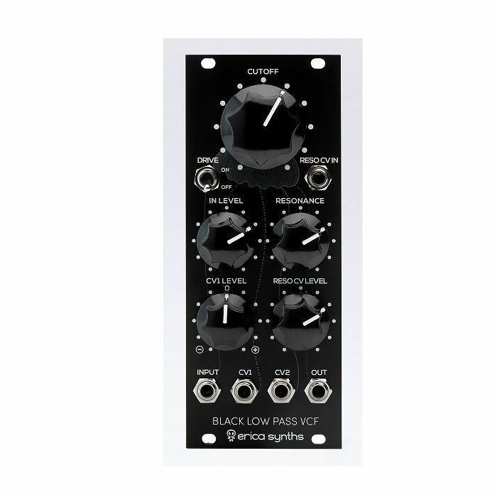 ERICA SYNTHS - Erica Synths Black Low-Pass VCF Black Series Module