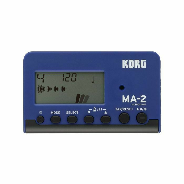 KORG - Korg MA2 LCD Pocket Digital Metronome (blue & black) (B-STOCK)
