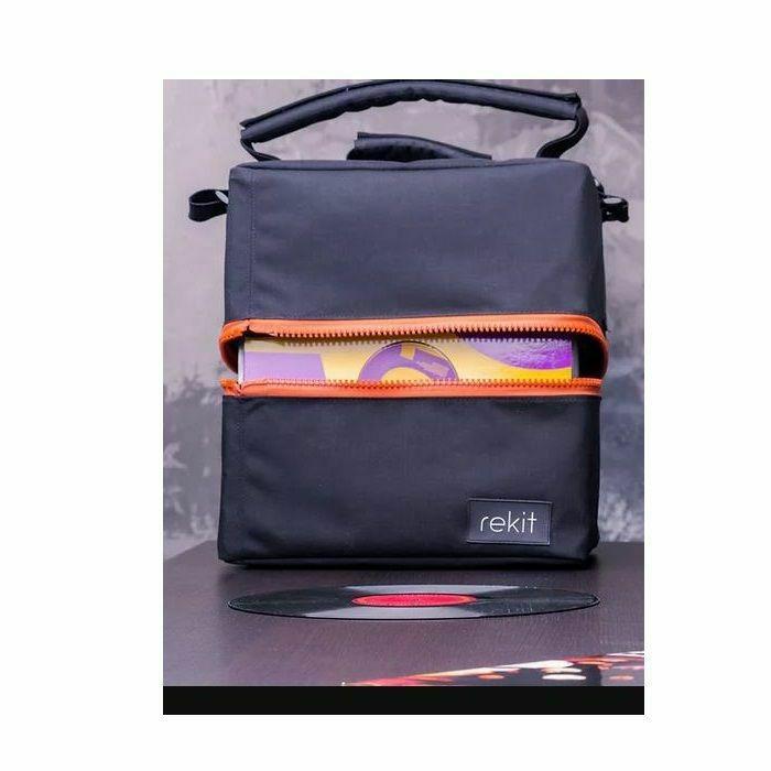 "REKIT - Rekit 75 12"" Vinyl Record Bag (orange zippers) (B-STOCK)"