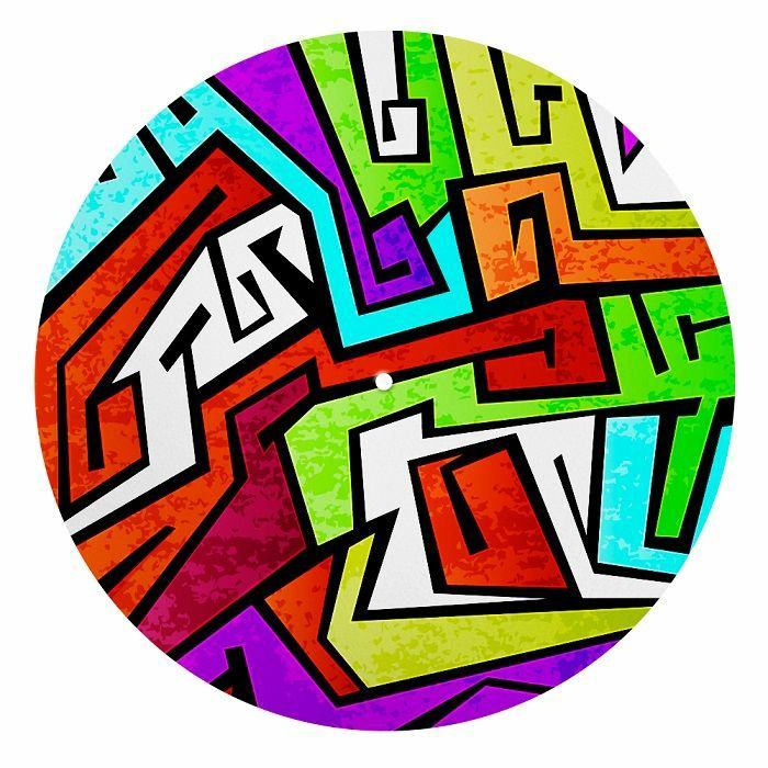 IDYD - IDYD 80s Graffiti 12 Inch Turntable Slipmats