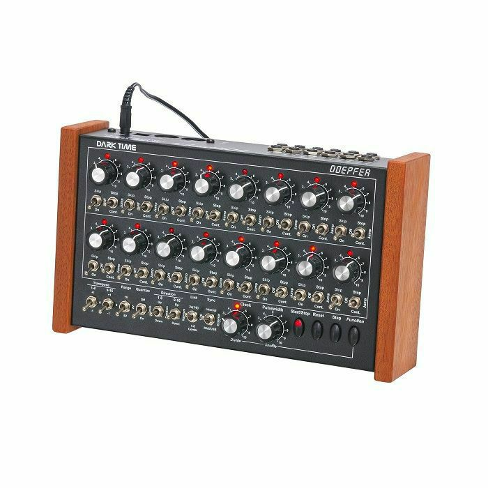 DOEPFER - Doepfer Dark Time MIDI/USB Analogue Sequencer (red LED version, supplied with 2 pin Euro plug) (B-STOCK)