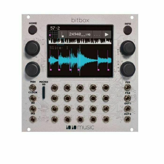 1010 MUSIC - 1010 Music Bitbox Mk2 Intuitive Sampling Module (B-STOCK)