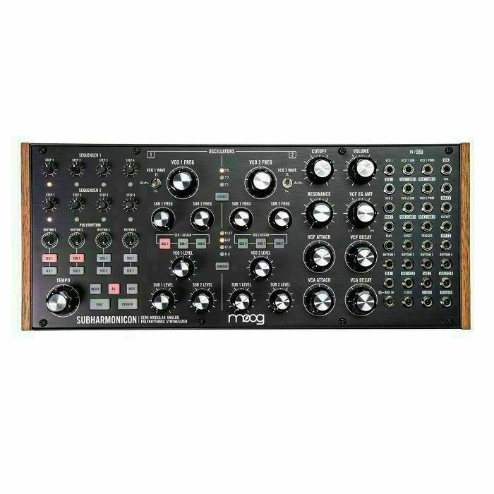MOOG - Moog Subharmonicon Semi Modular Polyrhythmic Analogue Synthesiser (B-STOCK)