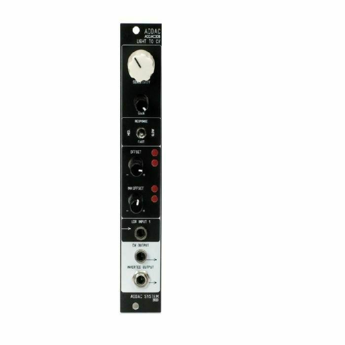 ADDAC SYSTEM - ADDAC System ADDAC308 Light To CV Module (black faceplate) (B-STOCK)