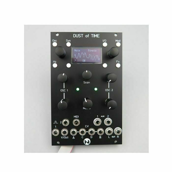 NEUTRON SOUND - Neutron Sound Dust Of Time Dual Stereo Oscillator Module (black faceplate) (B-STOCK)