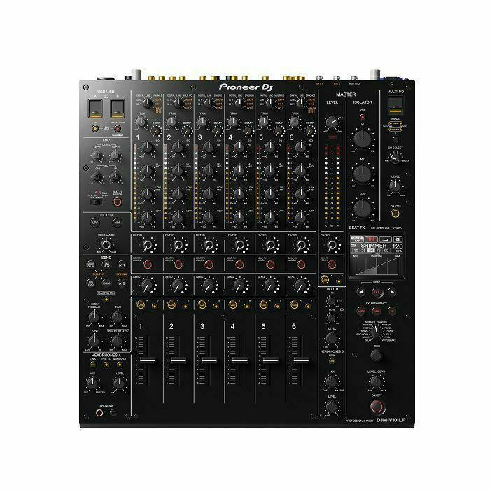 PIONEER DJ - Pioneer DJ DJM-V10-LF 6-Channel Professional DJ Mixer With Longer Channel Faders (B-STOCK)