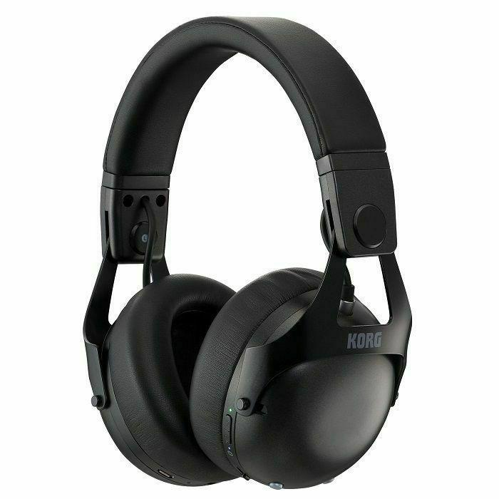KORG - Korg NC-Q1 Smart Noise Cancelling DJ Headphones (black) (B-STOCK)