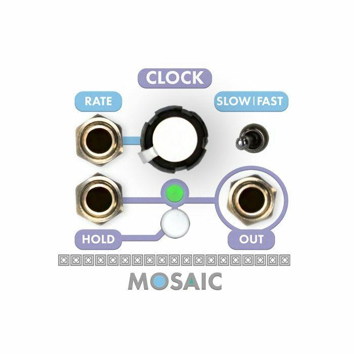 MOSAIC - Mosaic Clock Module (white faceplate)