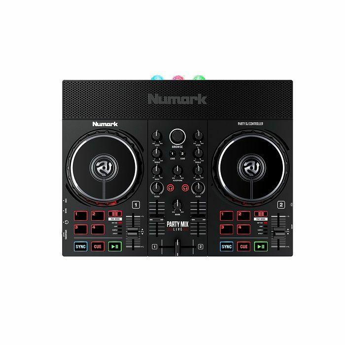 NUMARK - Numark Party Mix Live DJ Controller With Built-In Light Show & Speakers