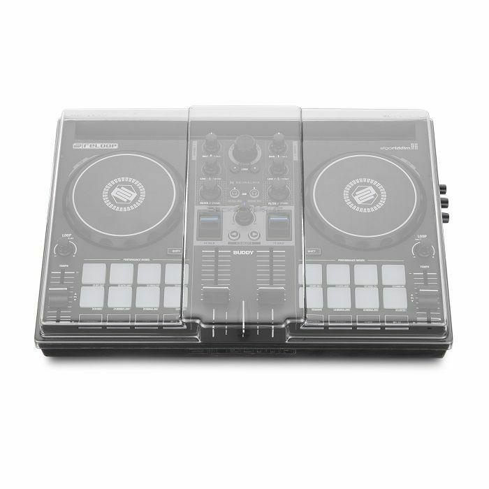 DECKSAVER - Decksaver Reloop Buddy & Ready DJ Controller Light Edition Cover