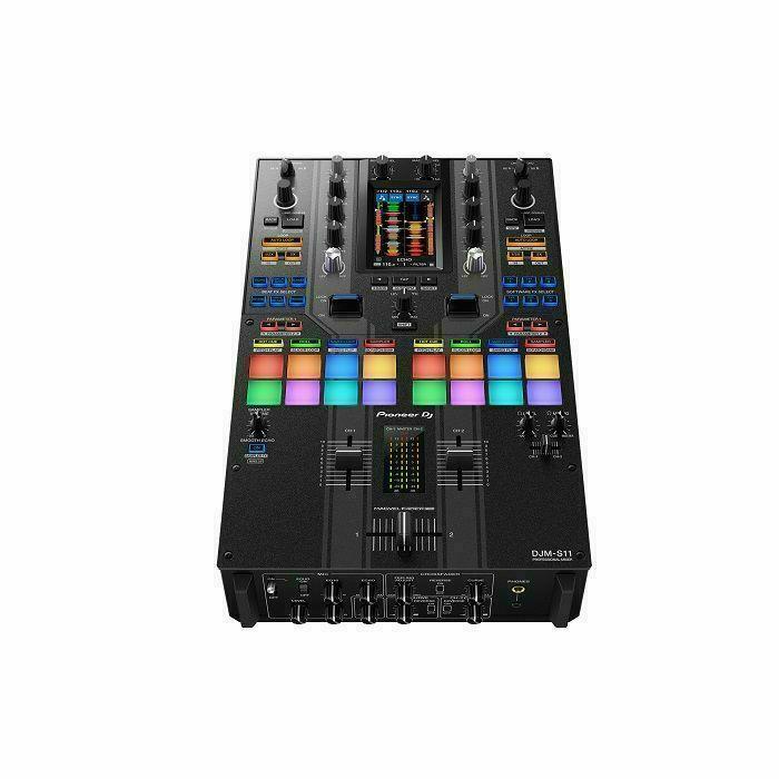 PIONEER DJ - Pioneer DJ DJM-S11-SE Professional Scratch Style 2-Channel DJ Mixer (special edition) (B-STOCK)