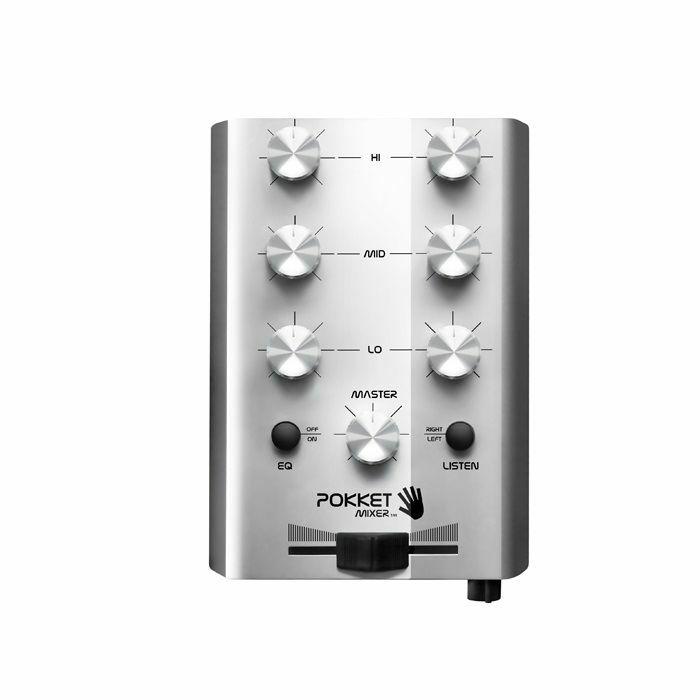 POKKET MIXER - Pokket Mixer Mini DJ Mixer (metal silver)