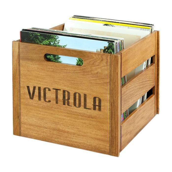 """VICTROLA - Victrola VA20 12"""" LP Vinyl Record Crate"""