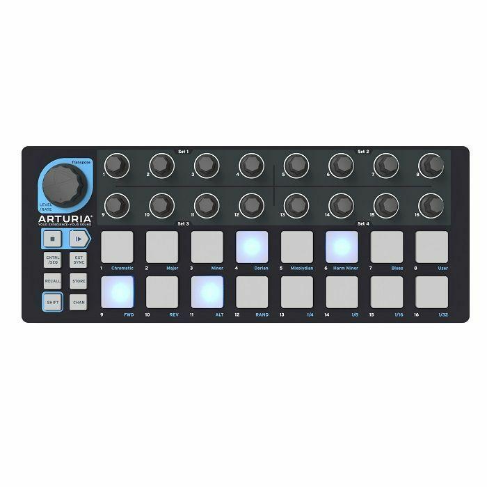 ARTURIA - Arturia BeatStep Black Edition Controller & Sequencer