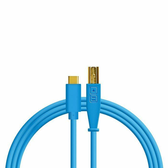 DJ TECH TOOLS - DJ Tech Tools USB-C Chroma Cable (blue, 1.5m)