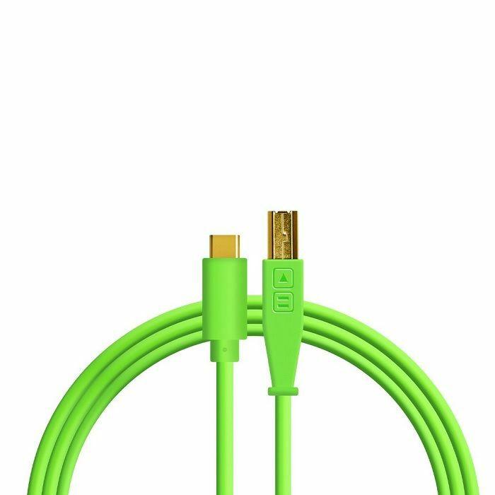 DJ TECH TOOLS - DJ Tech Tools USB-C Chroma Cable (neon green, 1.5m)