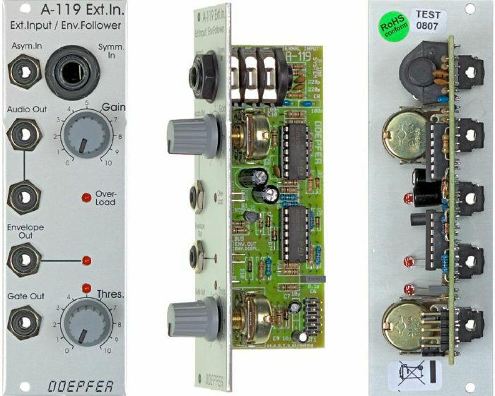 DOEPFER - Doepfer A-119 External Input Envelope Follower Module (B-STOCK)