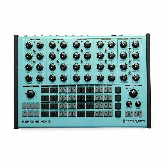ERICA SYTNHS - Erica Synths Perkons HD-OI Drum Machine & Synthesiser