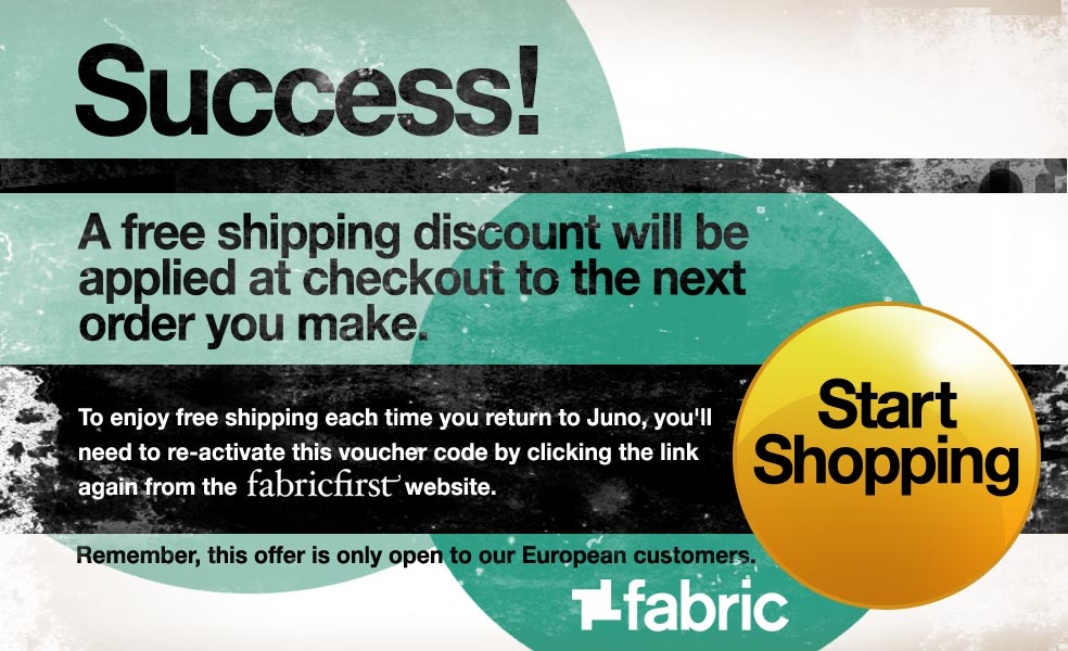 Success! A free shipping discount will be applied at checkout to the next order you make. Start Shopping