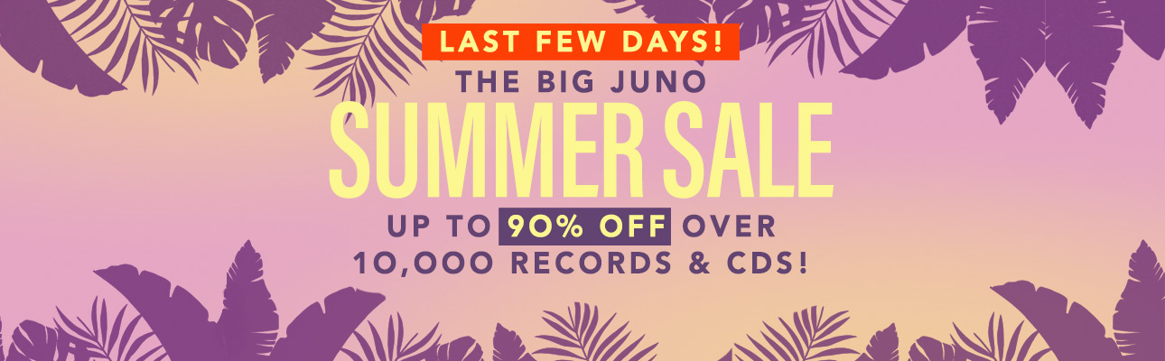 The Big Juno Summer Sale  Up to 90% OFF 10,000 records & CDs!
